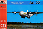 AAM4401 Heavy Turboprop Transport Aircraft An-22