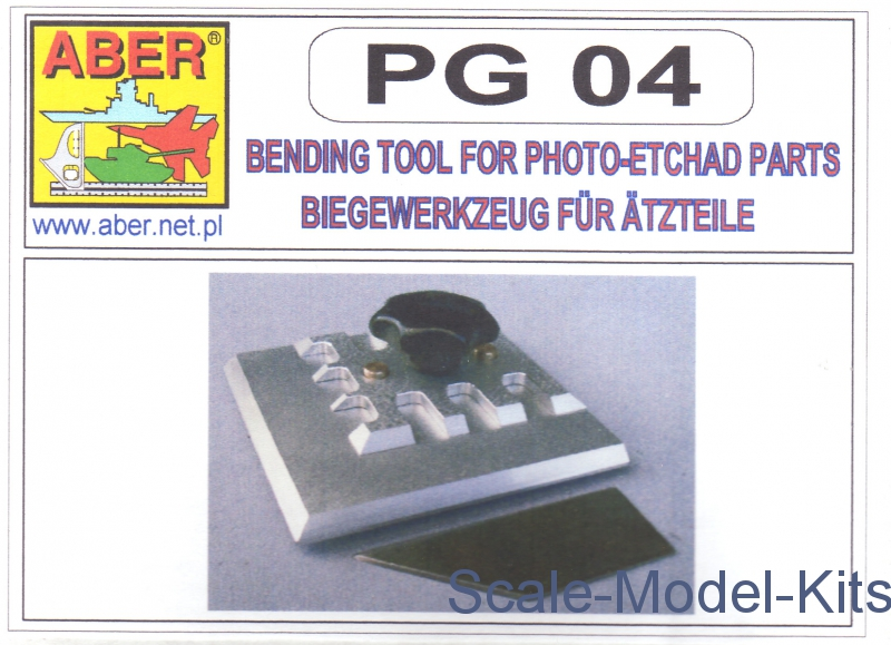 Bending tool for phote-etchad parts