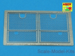 Photo-etched parts: Grilles for Sd.Kfz. 181 Tiger I, Aber, Scale 1:35