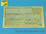 ABR35-G32 Grilles for Russian tank T-55AM also for T-55AMV, for Takom kit