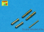 ABRA32-010 Set of 2 barrels for German aircraft 30mm machine cannons MK 108 with blast tube