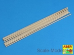 ABRWR-3 Wood round rods 3mm length 250mm x 10 pcs