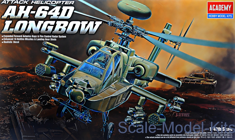 "Helicopter AH-64D ""Longbow"""