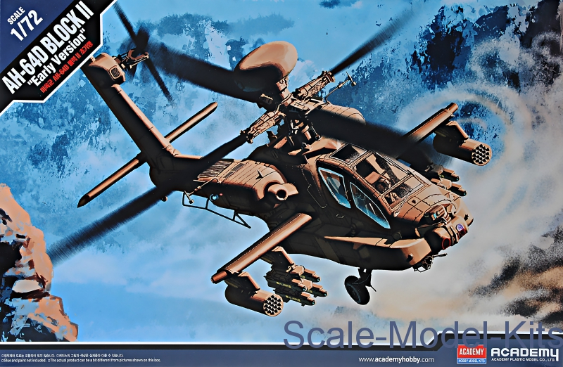 "Helicopter US Army AH-64D Block II ""Early version"""