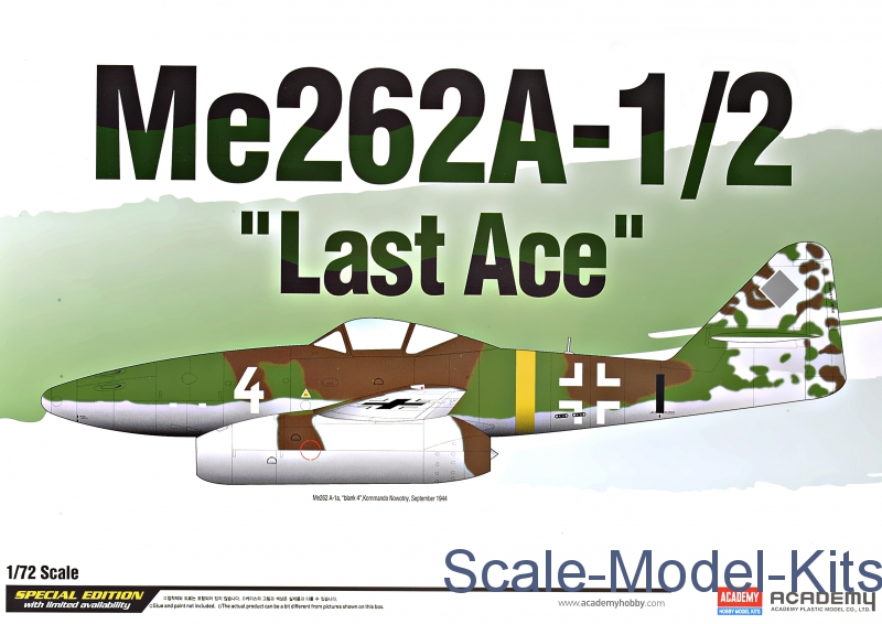 "Fighter Me262A-1/2 ""Last ace"""