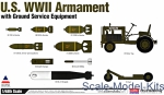 AC12291 US WWII Armament with ground service equipment