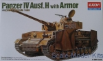 AC13233 German tank Panzer IV Ausf. H with armor