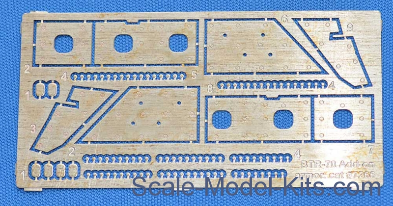 Photoethed: BTR-70 Add-on armor (for ACE kits #72164 & 72166)
