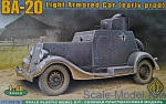 ACE48108 BA-20 light armored car, early prod.