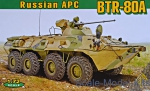 ACE72172 BTR-80A Soviet armored personnel carrier
