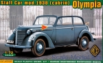 ACE72507 Olympia (cabrio) staff car, model 1938