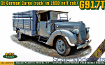 ACE72575 G917T 3t German Cargo truck (m.1939 soft cab)