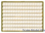 PEr350-2 Photoetched: Three-stage Ship Railings 16 pcs x96mm each