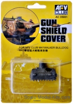 AF-AC35001 Gun shield cover for tank M41A3