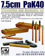 AF35075 Shells for gun 75 mm PAK40