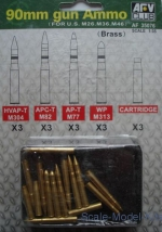 AF35076 90 mm gun Ammo (for US M26, M36, M46)