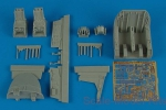 AIRES4509 Su-24M Fencer cockpit set, for Trumpeter kit
