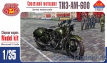 AIM35001 TIZ-AM-600 Soviet motorcycle