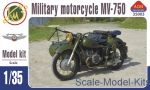 AIM35003 Soviet military motorcycle with sidecar MV-750 (K-750)