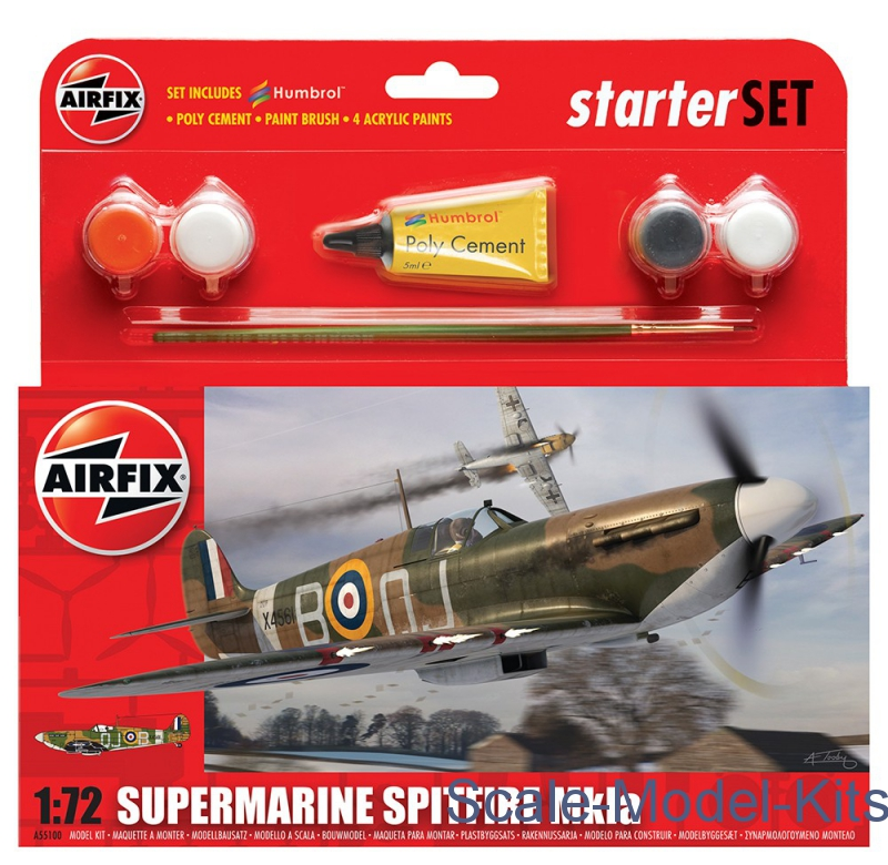 Gift set for Supermarine Spitfire MkIA