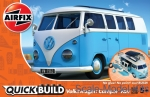 AIR-J6024 Camper Van - Blue (Lego assembly)