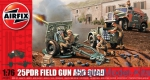 AIR01305 25 PDR Field Gun and Quad
