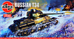 AIR01316V Russian T34 Medium Tank (Vintage Classics)