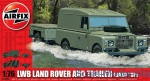 AIR02324 LWB Land Rover and Trailer (Hard Top)