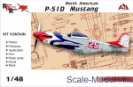 AMG48501 North American P-51D Mustang