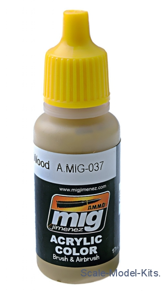 Acrylic paint: New wood A-MIG-0037