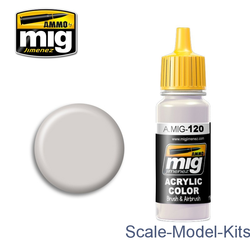 Acrylic paint: Light brown-gray A-MIG-0120