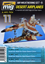 A-MIG-7424 Weathering set: Desert airplanes A-MIG-7424