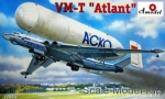 Air: VM-T 'Atlant' Soviet transport aircraft, Amodel, Scale 1:72
