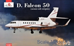 AMO72307 Dassault Falcon 50 (version with winglets)