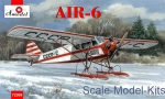 Civil aviation: AIR-6 Soviet monoplane on skis, Amodel, Scale 1:72