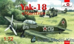 "Trainer aircraft / Sport: Yakovlev Yak-18 ""Maestro"" training aircraft, Amodel, Scale 1:72"