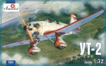 Trainer aircraft / Sport: Ut-2 Soviet trainer airplane, Amodel, Scale 1:72