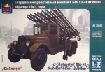 ARK35040 Russian rocket launcher BM-13