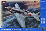 ARK48013 MiG-3 Russian fighter, Air defense of Moscow