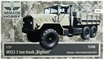 "ARH72206 1/72 Armada Hobby 72206 - M923 5ton truck ""Bigfoot"" (resin kit + pe)"
