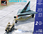 German WWII experimental Rocket-Powered Fighter Lippisch P.13a w/Kettenkrad (2 kits in box)