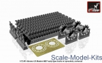 AR-AC7334a Tracks for M1 Abrams series early type, w/ drive wheels, universal
