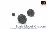 Detailing set: Dornier Do 17M/P/Z, Do 215 wheels w/weighted tires, Armory, Scale 1:72