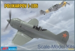 ART7206 Polikarpov I-185 Soviet fighter