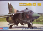 Trainer aircraft / Sport: Mikoyan MiG-23UB training aircraft, ART Model, Scale 1:72