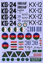 AD4832 Decal for Sukhoi Su-24 M / MR Fencer D / E