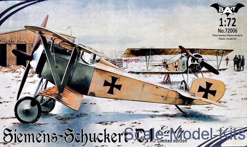 Siemens-Schuckert D.1, early