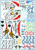 BD32003 Decal for MiG-29 part 1