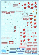 Decal for Yakovlev Yak-7 family