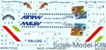 BOA-14442 Decal 1/144 for Boeing 737-600